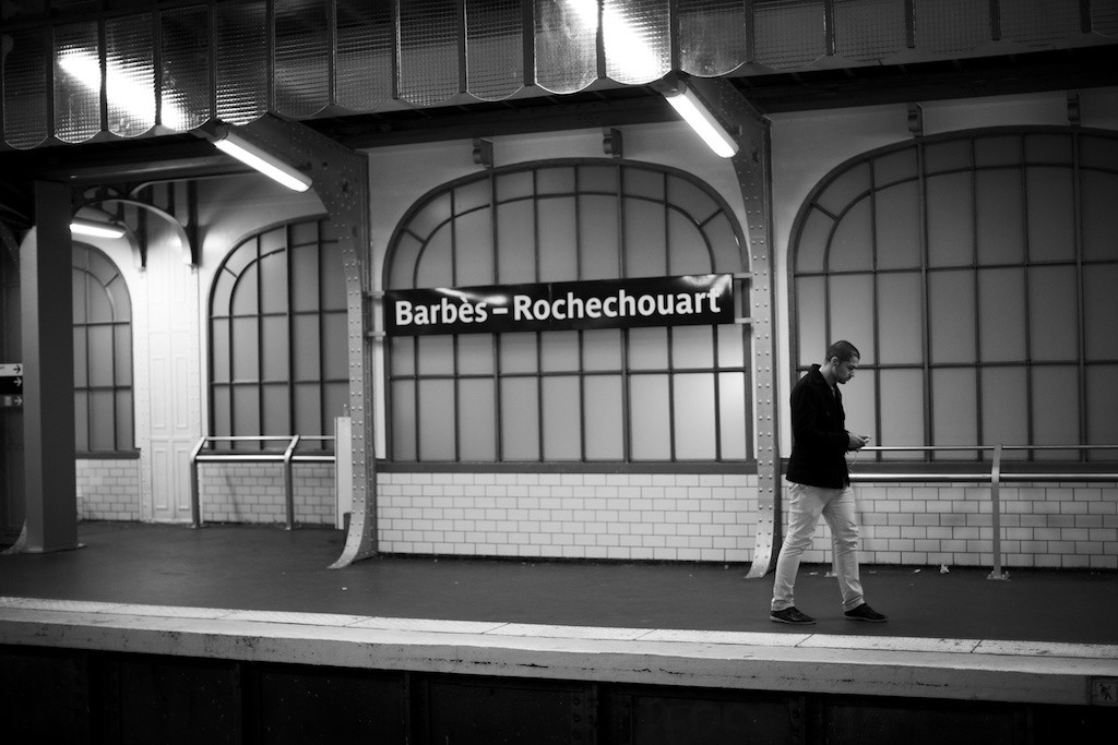 Top Platform of Barbes Rochechouart