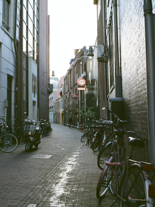 Alley Way in Amsterdam