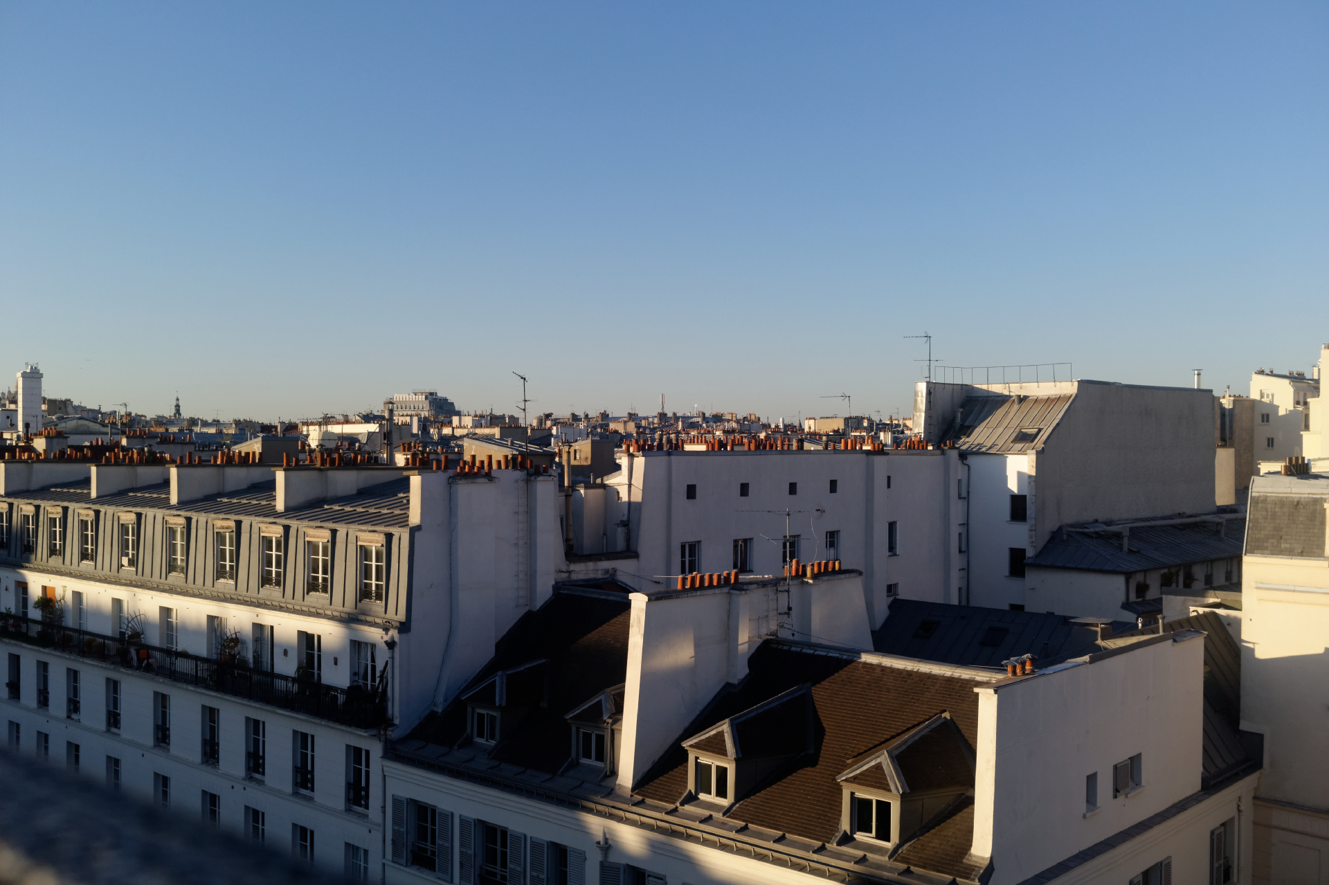 Rooftops in Paris image by ©akin abayomi