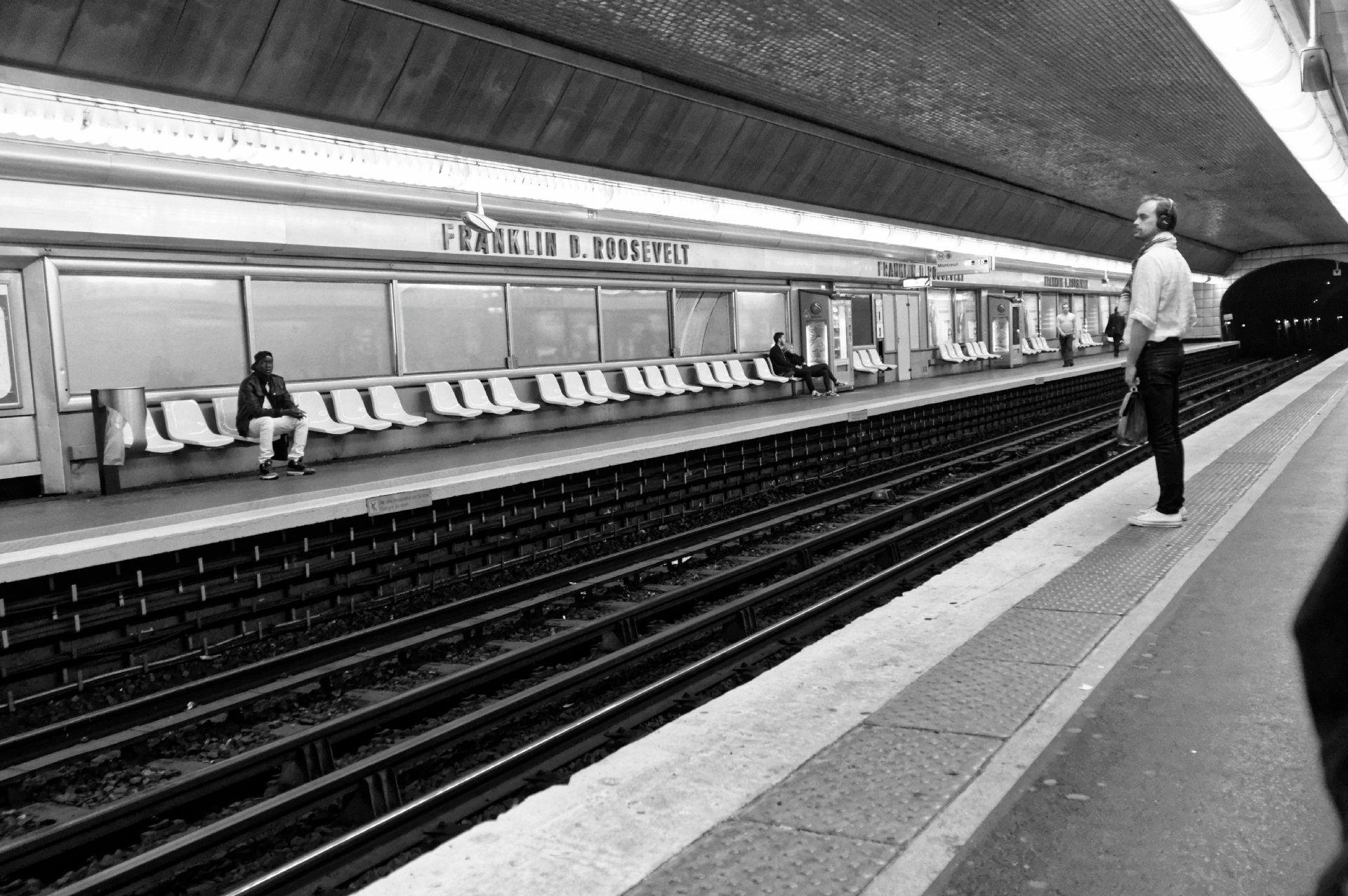 Train Platform in Paris image by ©akin abayomi