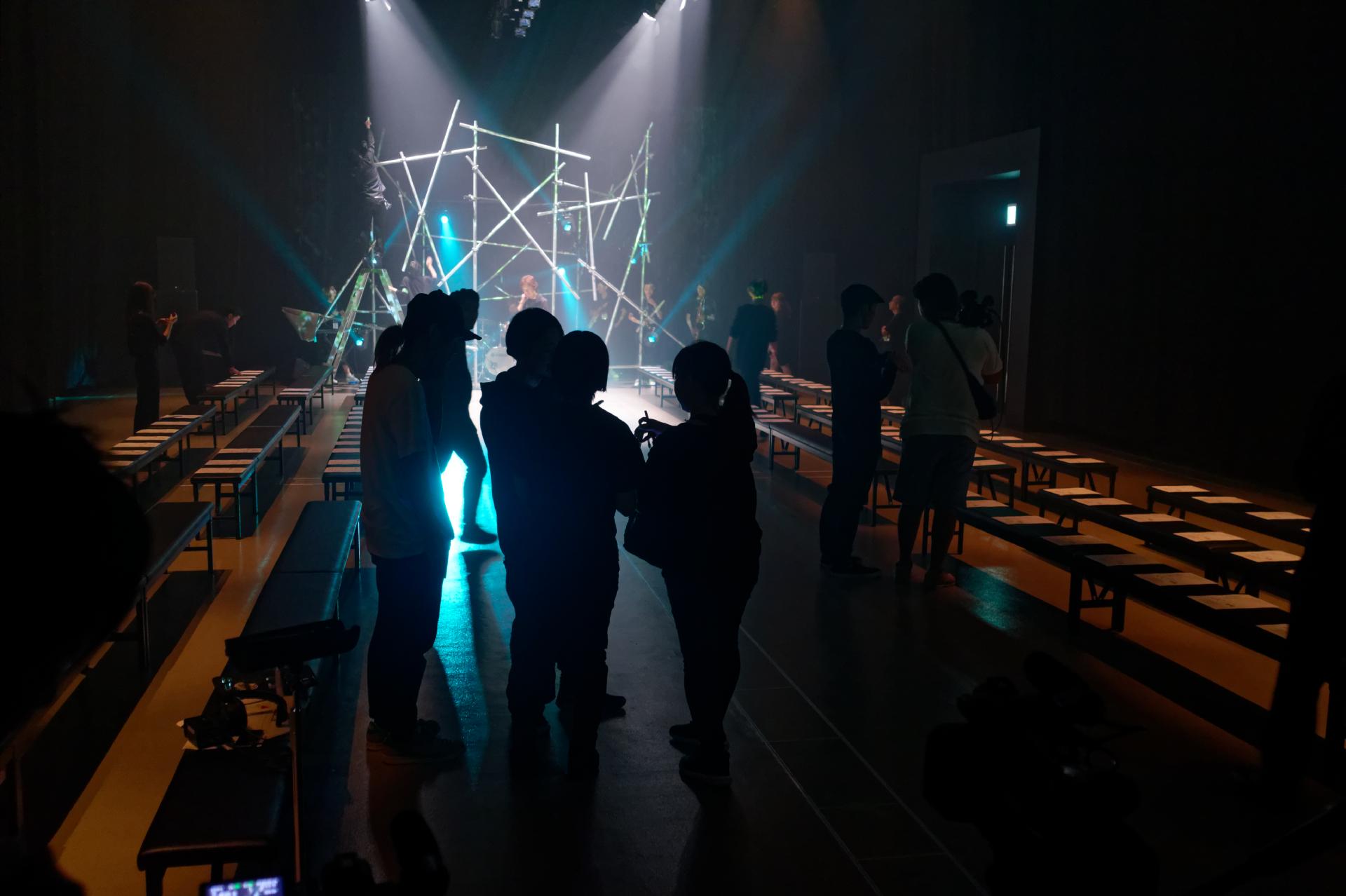 Plastic Tokyo rehearsal image by ©Akin Abayomi